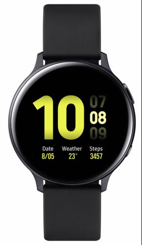 Galaxy Watch Active2 Aluminium 44mm Aqua Black