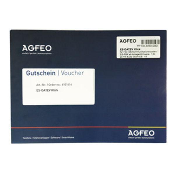 AGFEO Software ES DATEV Klick Paket -Voucher-